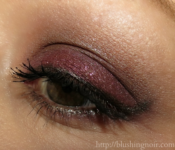 ColourPop Megan Naik smokey eye look