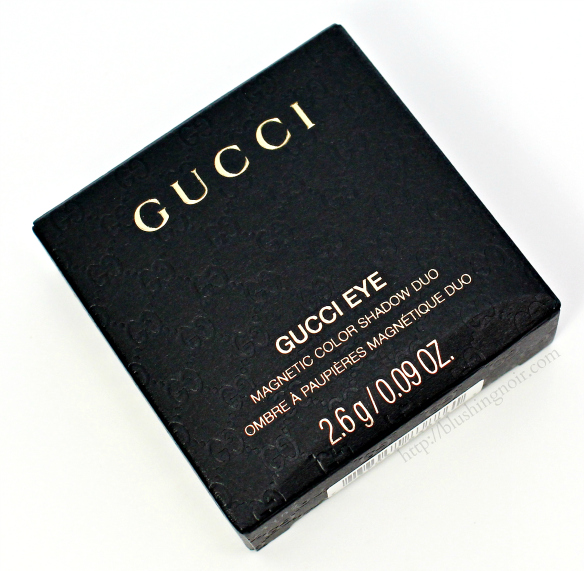Gucci Eye Magnetic Color Shadow Duo Amaretto