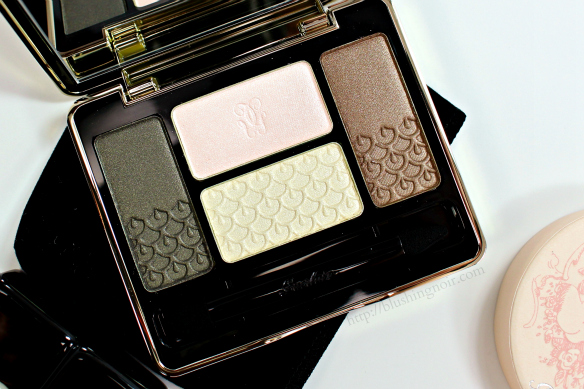 Guerlain Les Precieux Eyeshadow Swatches