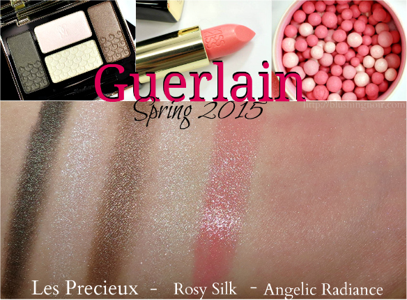 Guerlain Spring 2015 swatches