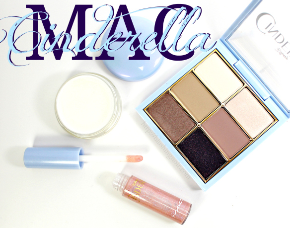 MAC Cinderella Swatches Review