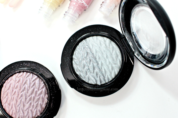 MAC Just Because Mineralize Eye Shadow Swatches