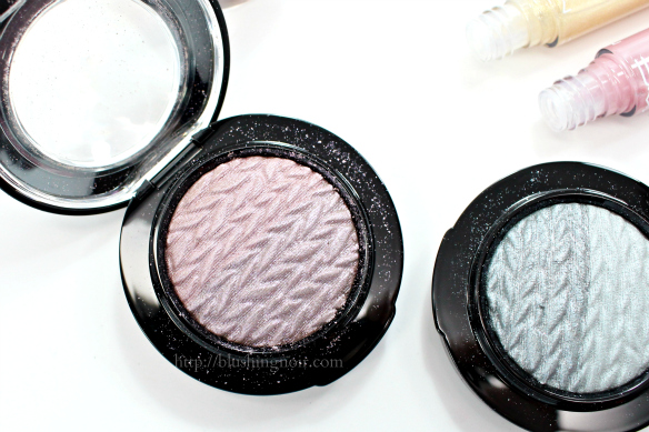 MAC Leap Mineralize Eye Shadow Swatches