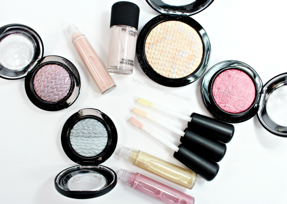 MAC Lightness of Being Swatches