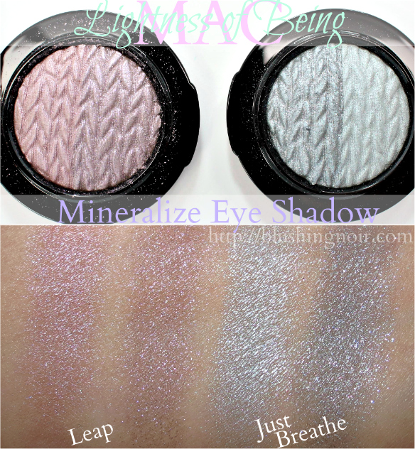 MAC Mineralize Eye Shadow Swatches Lightness of Being