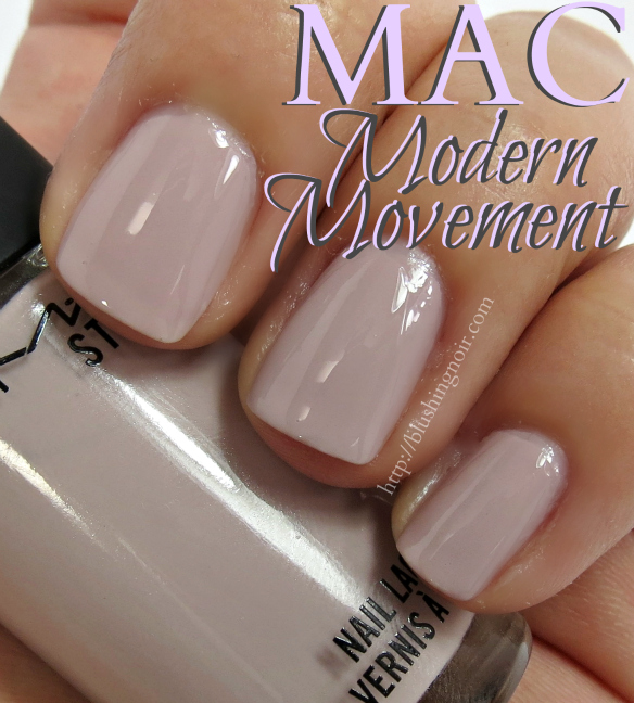 MAC Modern Movement Nail Polish Swatches