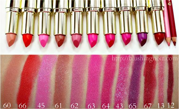 Milani Matte Lipstick Swatches