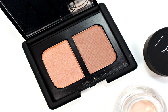 NARS St Paul de Vence duo eyeshadow swatches