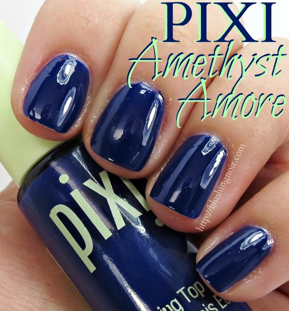 Pixi Amethyst Amore Nail Polish Swatches