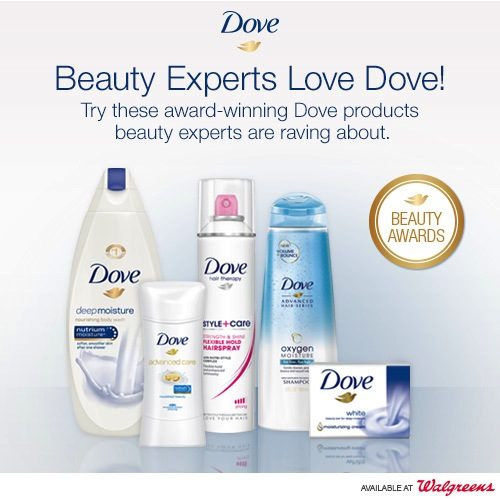 Beauty Experts Love Dove! + GIVEAWAY!