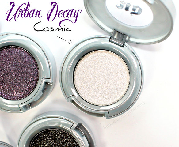 Urban Decay Cosmic Eyeshadow Swatches