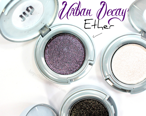 Urban Decay Ether Eyeshadow Swatches