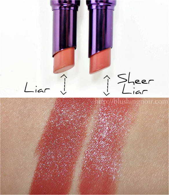 Urban Decay Sheer Revolution Lipsticks Swatches + Review // Spring ...