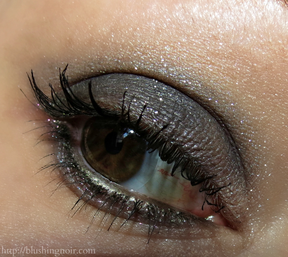 Urban Decay Moondust Eyeshadow Eye Look