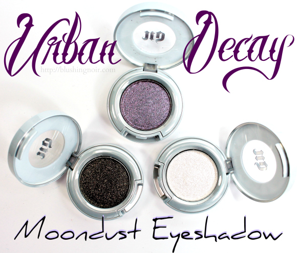 Urban Decay Moondust Eyeshadow Swatches Review