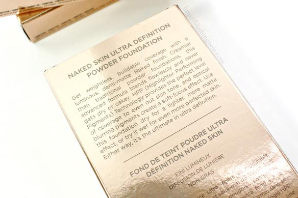 Urban Decay Naked Skin Powder Foundation description