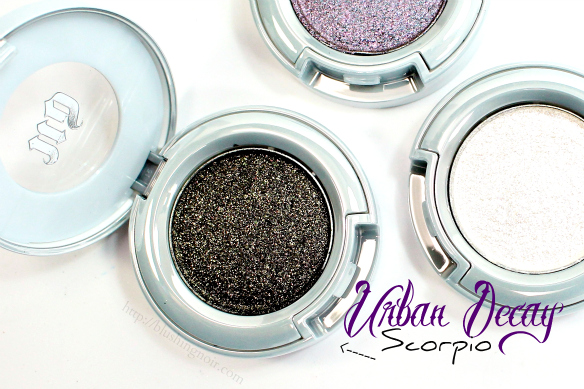 Urban Decay Scorpio Eyeshadow Swatches