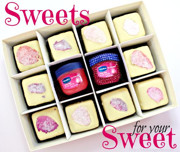 Valentine's Day Sweet Gift Ideas #RosyLips