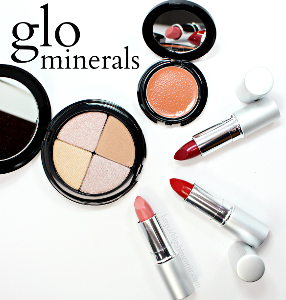 glo minerals makeup swatches review