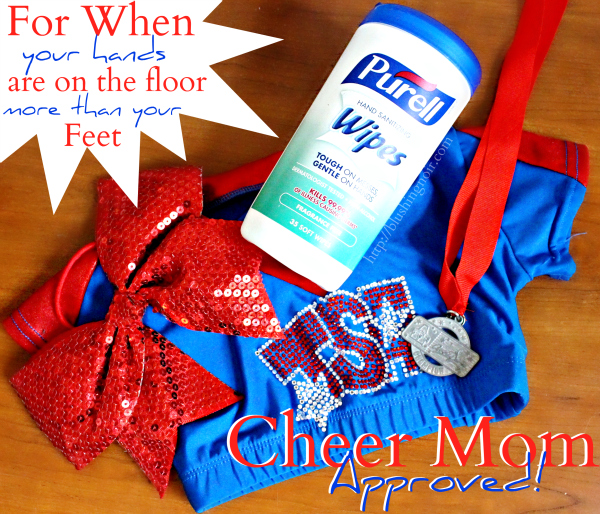 Cheer Mom Approved Hand Wipes #PurellWipes
