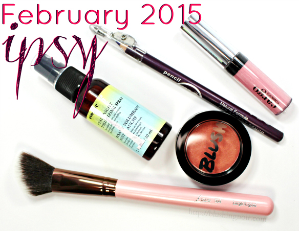 February 2015 ipsy glam bag review #ipsylove