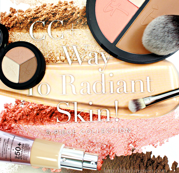 IT Cosmetics CC+ Your Way To Radiant Skin! 5-Piece Collection swatches review