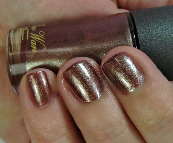MAC Sunset Tourmaline Nail Polish Swatches