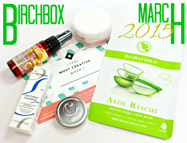 March 2015 Birchbox Swatches, Review & Photos