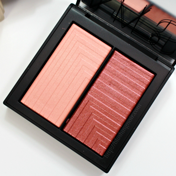 NARS Fervor Dual-Intensity Blush Swatches