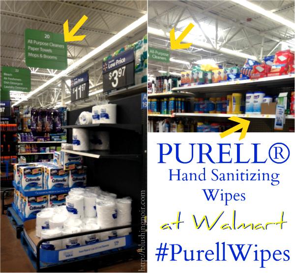 Walmart Purell Hand Sanitizing Wipes #PurellWipes