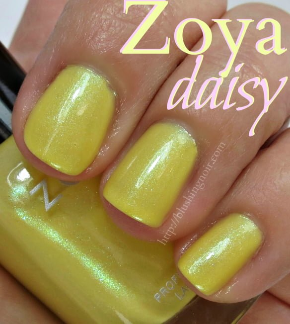 Zoya Daisy Nail Polish Swatches