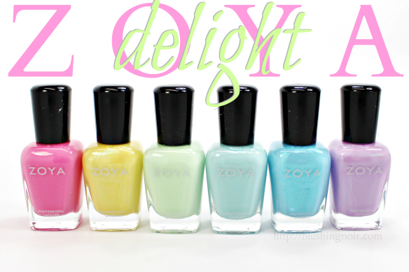 Zoya Delight Nail Polish Swatches + Review