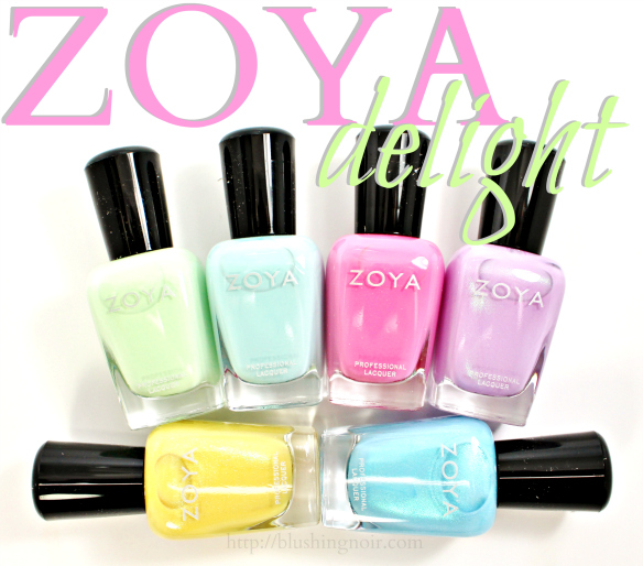 Zoya Delight Nail Polish swatches spring 2015