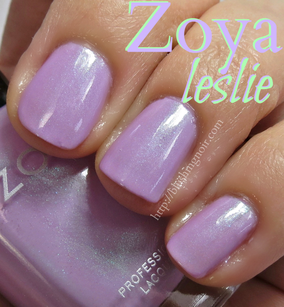 Zoya Leslie Nail Polish Swatches