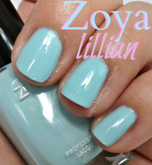 Zoya Lillian Nail Polish Swatches