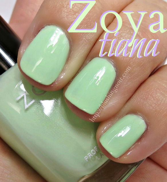 Zoya Tiana Nail Polish Swatches