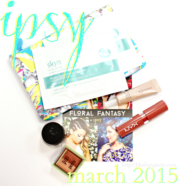 ipsy bag march 2015 swatches review