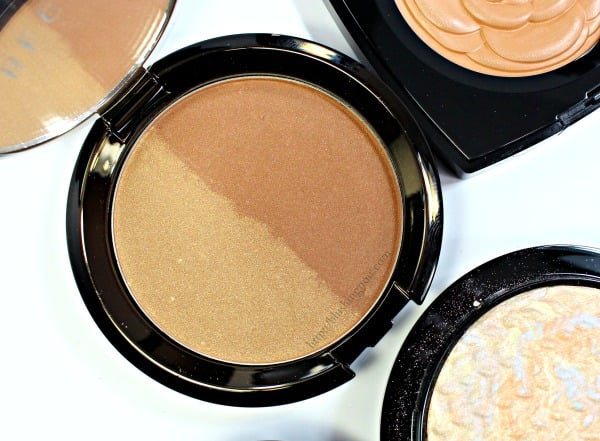 Becca Shadow & Light Bronze Contour Perfector Swatches