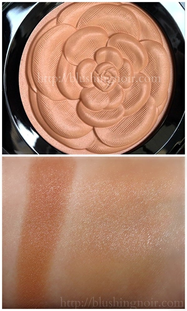 Chanel Lumiere d'ete bronzer swatches summer 2015