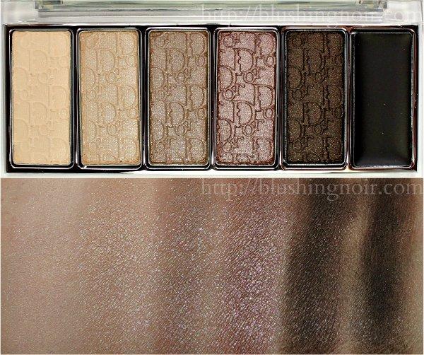 Dior Eye Reviver Eyeshadow Palette Swatches