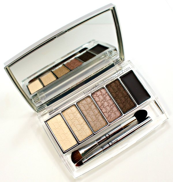 Dior Eye Reviver Eyeshadow palette swatches review