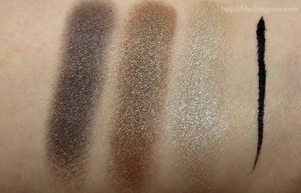 ELF 5 Piece Brown Eye Set swatches