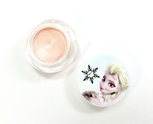 ELF Disney Elsa Icing Eye Shadow & Eyeliner Let it Go swatches