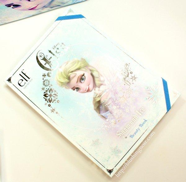 ELF Elsa Snow & Ice Beauty Book