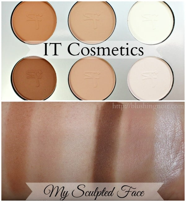 IT Cosmetics My Sculpted Face Swatches