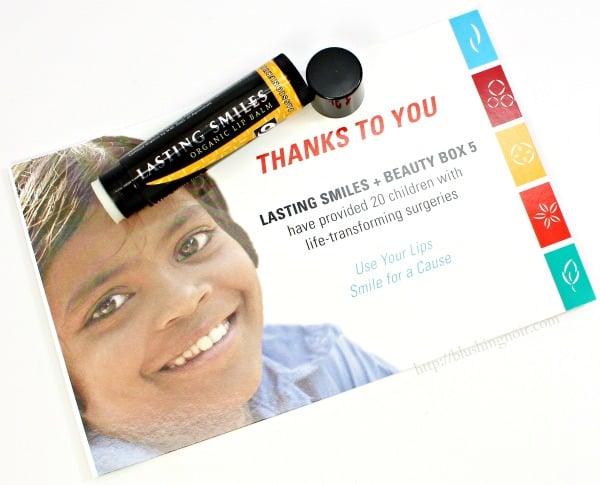 Lasting Smiles Organic Lip Balm