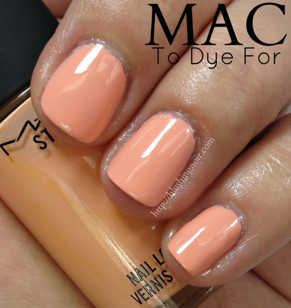 MAC To Dye For Nail polish Swatches
