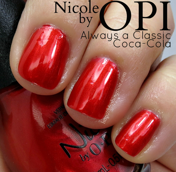 Nicole by OPI Always a Classic Coca-Cola Swatches