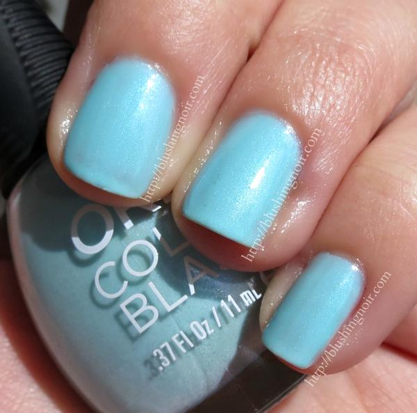 Orly Ice-solated Nail Polish Swatches Elsa