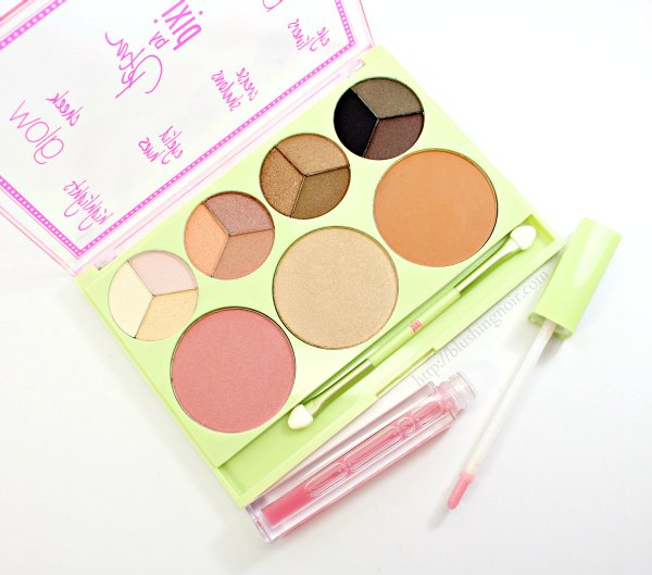 PIXI Palette Bronzette and lip plumper review